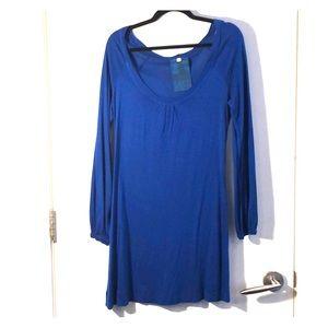 Young Fabulous & Broke Blue knit Dress